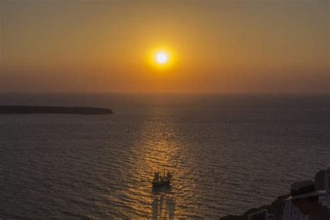 The Best Sunrise In The World Santorini Greece