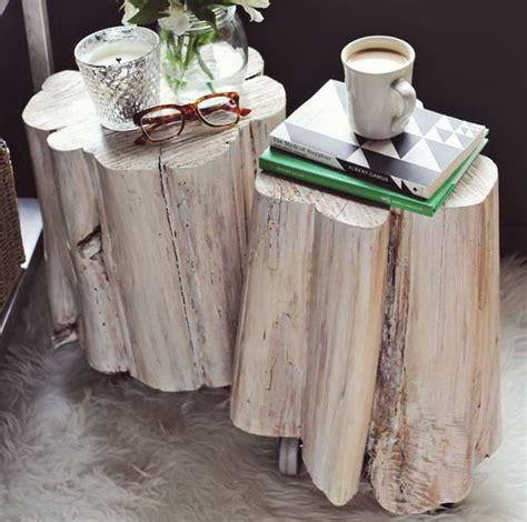 cool tree stump  log diy projects