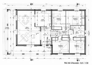 plan maison With plan de maison en l gratuit