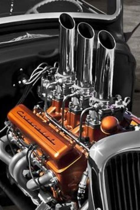 Tri Power Engine by Chevy 6 Pack Tri Power Carburetors Intakes
