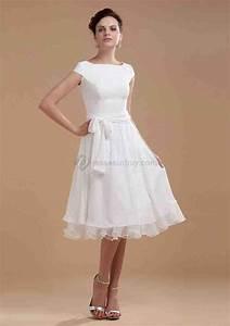 knee length wedding dresses with sleeves wedding and With knee length wedding dresses with sleeves
