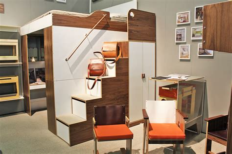 Casa Collection's Urbano Loft Bed is the answer to all of your small space storage problems