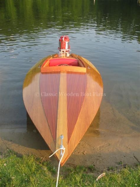 Wooden Jet Boat by Classic Wooden Boat Plans Boats Wooden