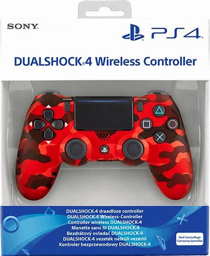 Dualshock Ps4 Controller Sony V2 Camouflage Wireless
