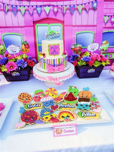 birthday party ideas rookie shopkins birthday party ideas shopkins birthdays and