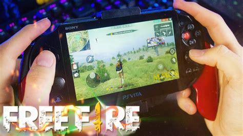 Jugando Free Fire En Ps Vita Youtube