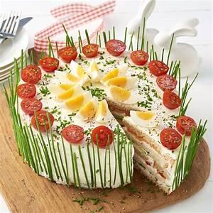 Rezepte Für Geburtstagsfeier : frischk se lachs torte rezept in 2019 yum ~ Frokenaadalensverden.com Haus und Dekorationen