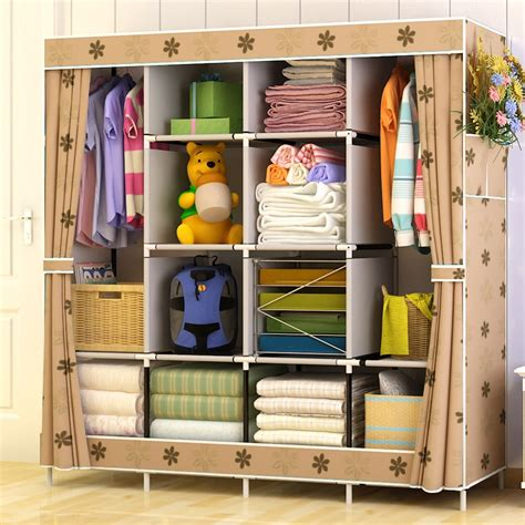 Cloth Storage Wardrobe by Aliexpress Buy Large Capacity Multi Function Cloth