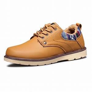 New 2017 Men Boots Fashion Warm Cotton ankle boots Shoes ...