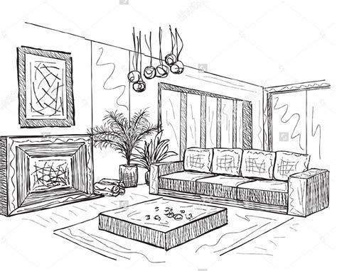 Room Interior Sketch (room Interior Sketch) Design Ideas