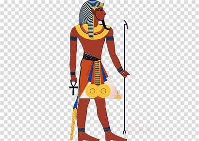Clipart Egyptian Cartoon Pharo Egypt Ancient Pharaoh