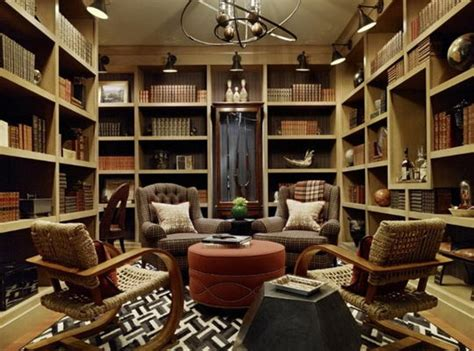 Home Library : Beautiful And Cozy Home Library Ideas