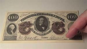 1862  100 Virginia Treasury Note