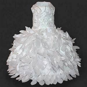 cinderella princess white glamour dog wedding dress With dog wedding dress