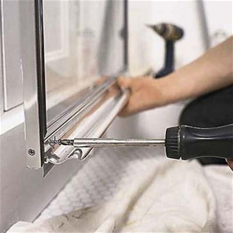 shower door parts replacing the shower door parts is it difficult we