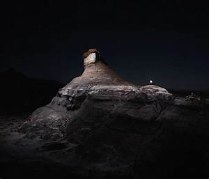 Drones rigged with led lights dramatically illuminate for Drones rigged with led lights dramatically illuminate landscapes at night