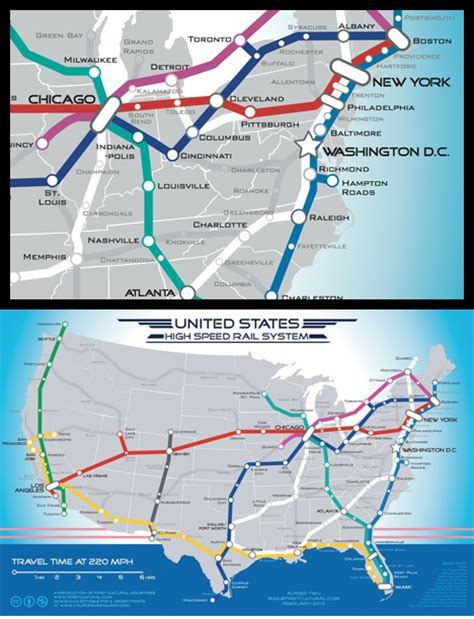 more high speed rail alfred twu s u s high speed rail map it s just a concept folks core77