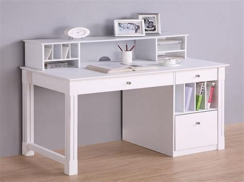 white and wood desk white computer desks white deluxe solid wood desk with
