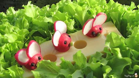 grand buffet de cuisine les souris radis une recette facile de cuisine amusante