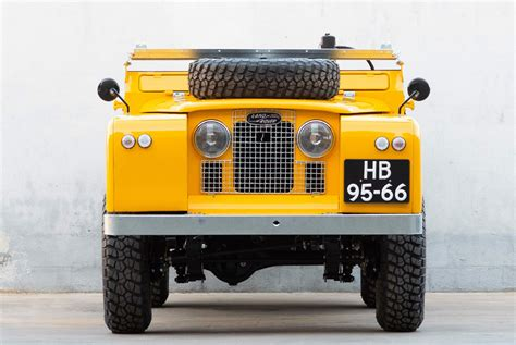 vintage land rover  custom   carry