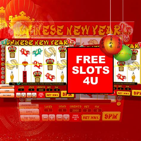 Free Chinese New Year Slot Machine Game By Free Slots 4u