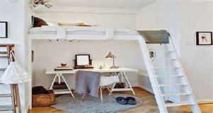 Chambre Ado Fille : d co chambre fille et gar on peinture et id e couleur ~ Teatrodelosmanantiales.com Idées de Décoration