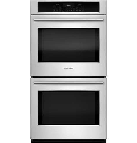 monogram  electric double wall oven zekshss ge