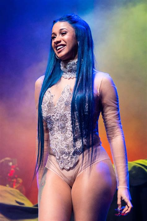 Cardi B's Most Extreme Hair Transformations, From a Choppy ...