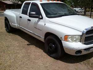 Find Used 2003 Dodge Ram 3500 Crew Cab Dually Diesel In San Angelo  Texas  United States