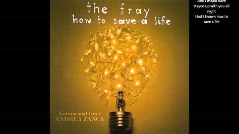 How to Save a Life The Fray Lyrics YouTube