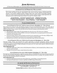 Lovely Marketing Resume Template – Business
