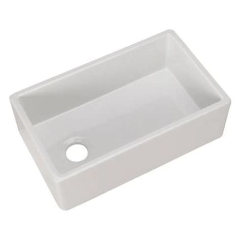 home depot kitchen sinks pegasus farmhouse apron front fireclay 30 in single bowl