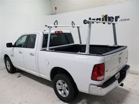 truck ladder rack erickson truck bed ladder rack w load stops aluminum
