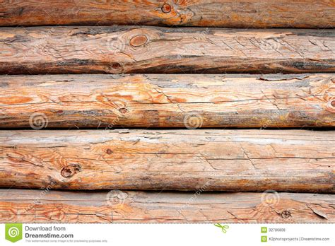 wooden logs stock photo image  pine rough rural