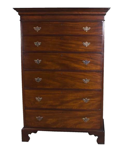 antique chippendale dresser chest of drawers