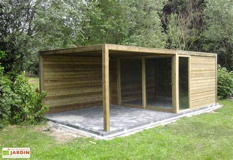 Abri De Jardin Bois Exterior (350x350x230) Gardival