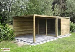 Abri De Jardin Ouvert : bungalow chalet mon am nagement jardin ~ Premium-room.com Idées de Décoration