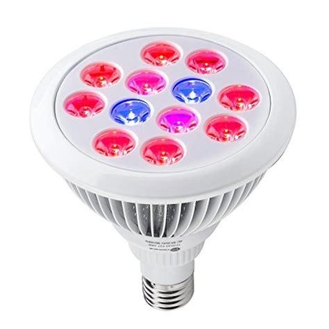 led grow light bulbs high efficient 24w led grow light taotronics plant grow