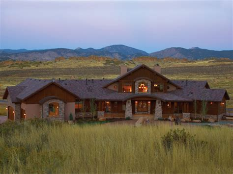 rustic ranch style home plans lodge style home plans