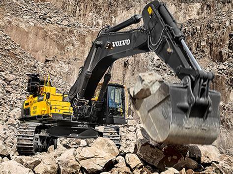volvos ecd excavator  set  standards  indian