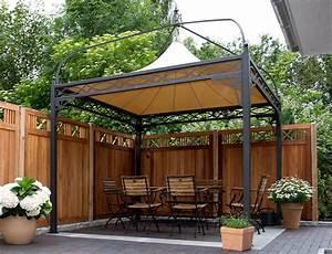 Gartenpavillon Metall Mit Festem Dach : metall pavillon antica roma 3x3 4x4 mein gartenpavillon ~ Bigdaddyawards.com Haus und Dekorationen