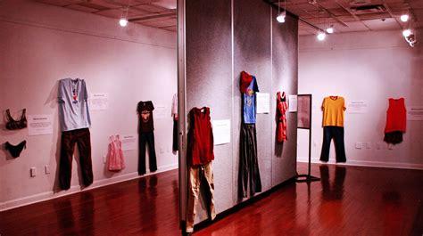 wearing exhibit takes aim  age
