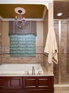 Blue, Roman, Shade, Pops, In, Traditional, Neutral, Bathroom