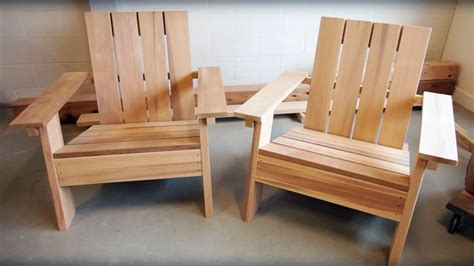 adirondack chair project plans   outdoors
