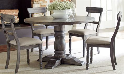 dining table sales modern rustic brushed gray finish dining table sales 3338