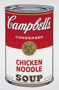 Campbell's Soup I: Chicken Noodle 45 - Andy Warhol