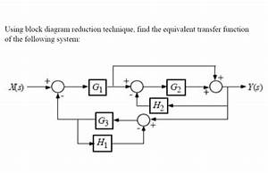Solved  Using Block Diagram Reduction Technique  Find The