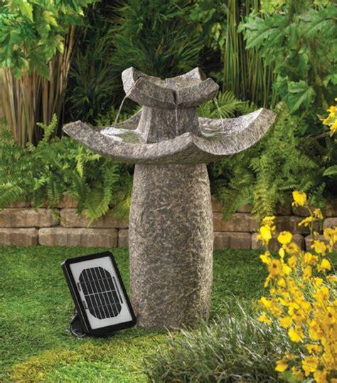 garten springbrunnen solar solar springbrunnen f 252 r den garten