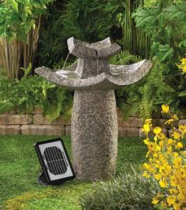 Solarbrunnen Für Den Garten : solar springbrunnen f r den garten ~ Lizthompson.info Haus und Dekorationen