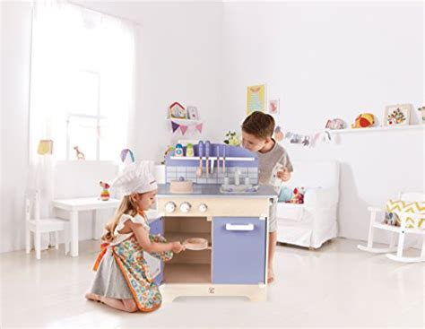Hape Kitchen Play Set ? Wooden Play Kitchen for Boys and